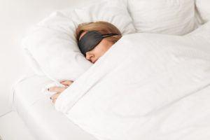 sovemaske test