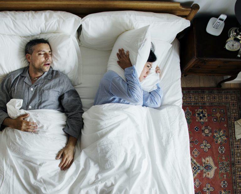 stop snorken med snorkeskinner